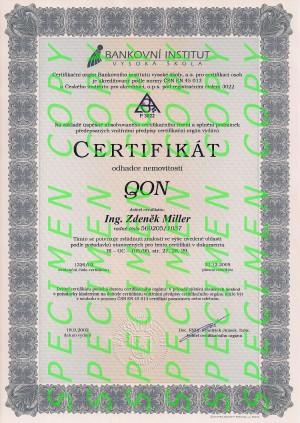 certifikace odhadce